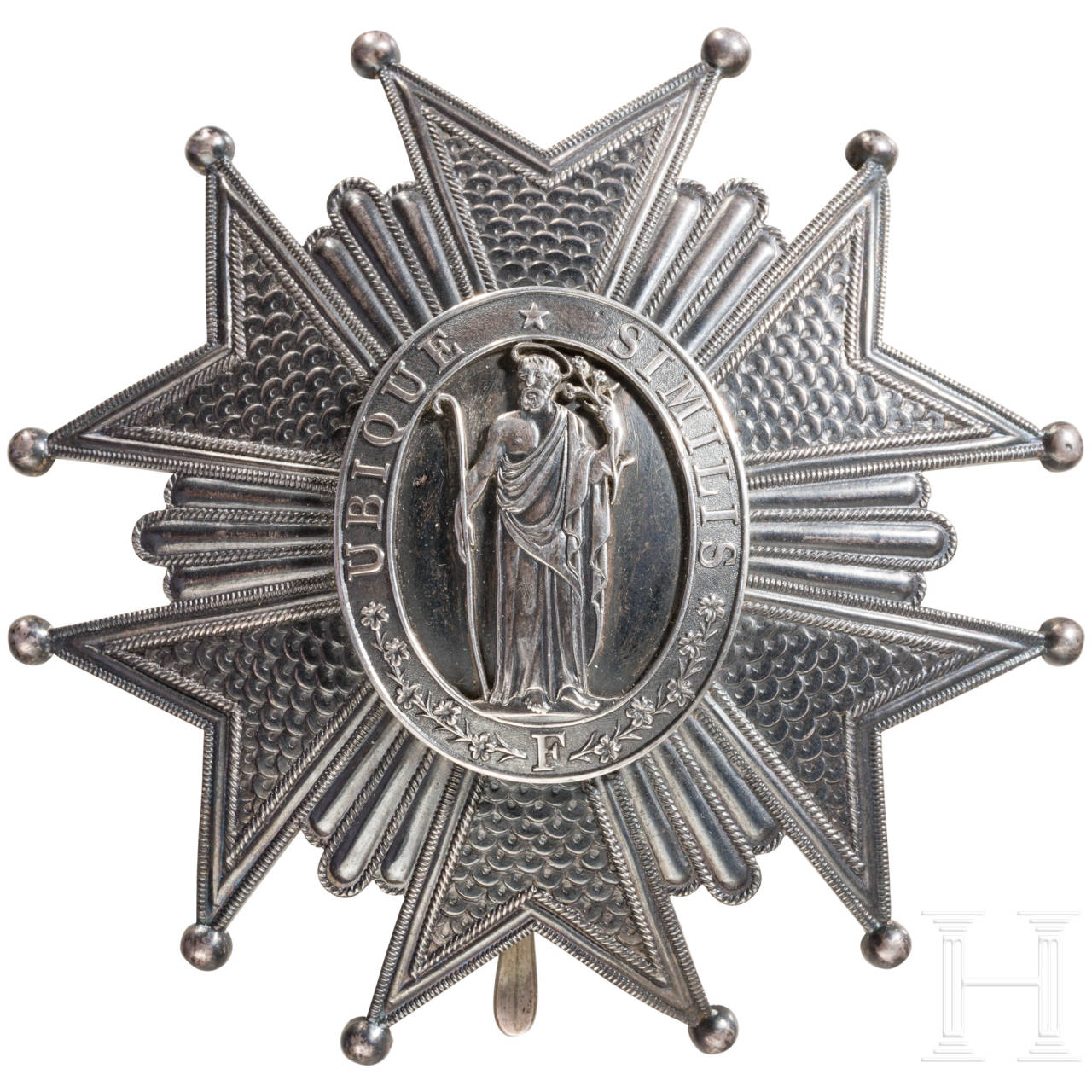 Order of Merit of St. Joseph, Tuscany, breast star to the Grand Cross, French production by Lemaitre in Paris