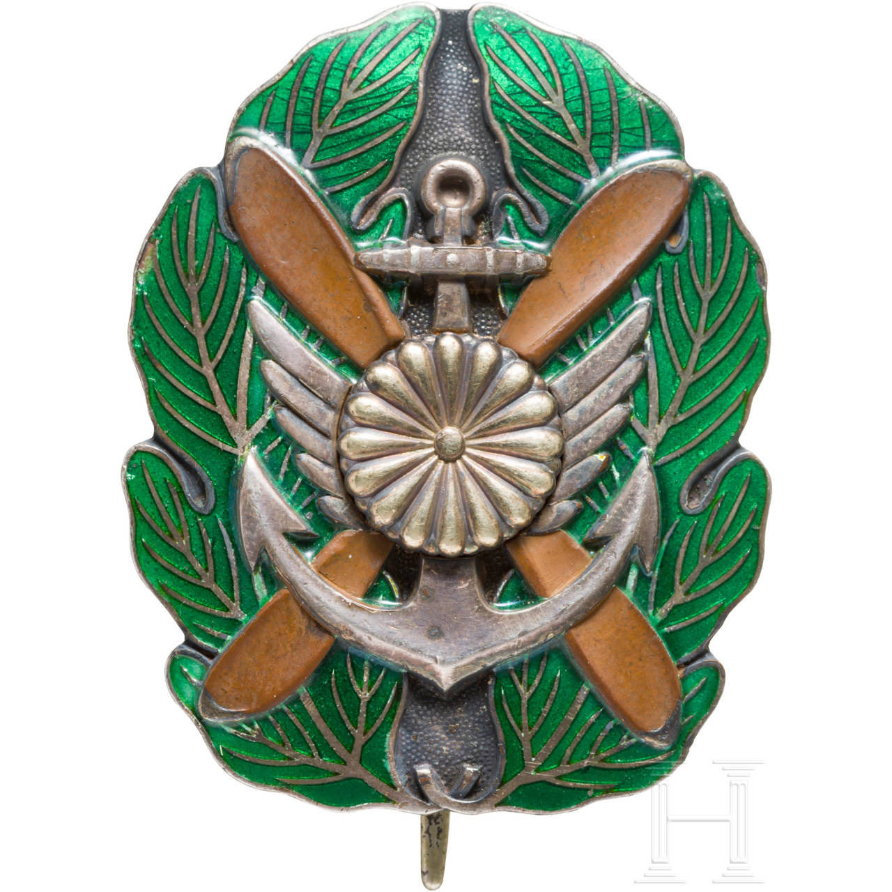 Merit badge of an officer of the naval pilots, 2nd world war