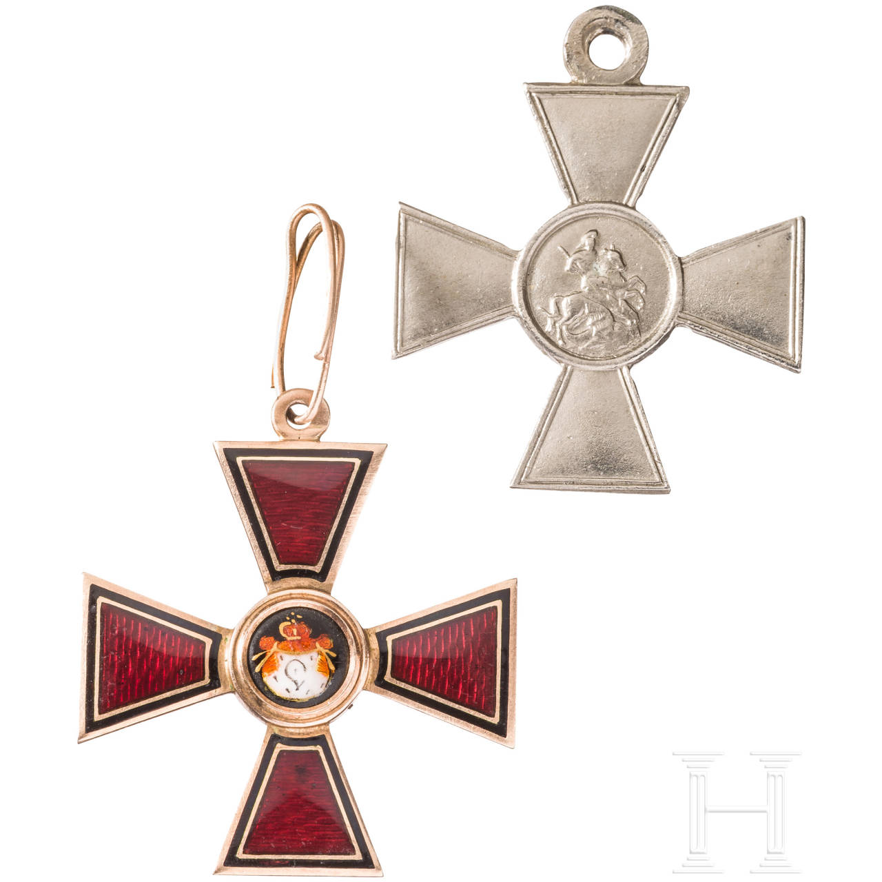 Order of St. Vladimir, cross 4th class, around 1870