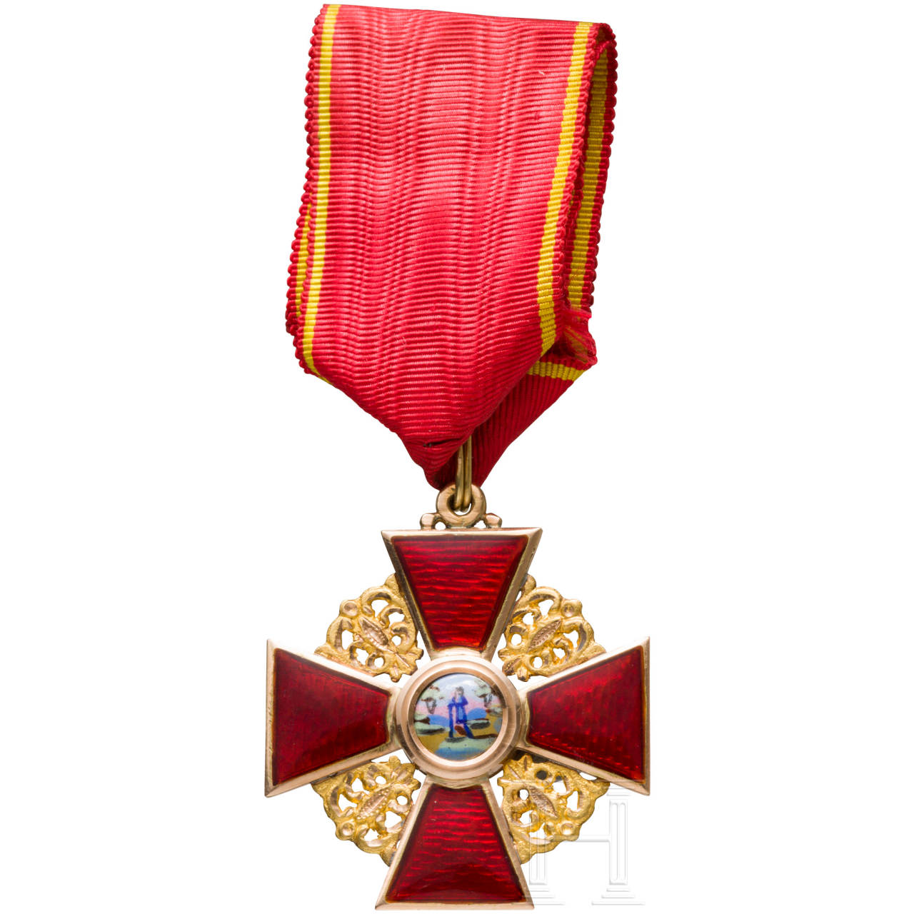 Order of St. Anne - 3rd class cross, around 1900