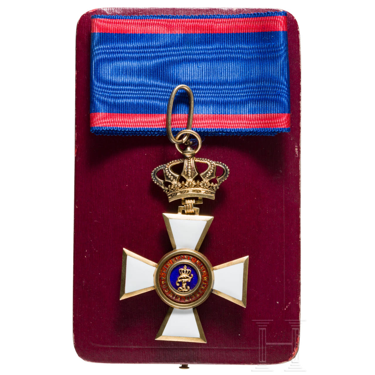 Order of Merit of Duke Peter Friedrich Ludwig, Commander's Cross, awarded 1839 to 1918
