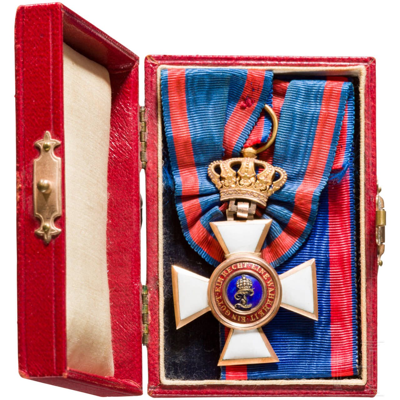 Oldenburg Order of Merit - knight's cross 1st class in case