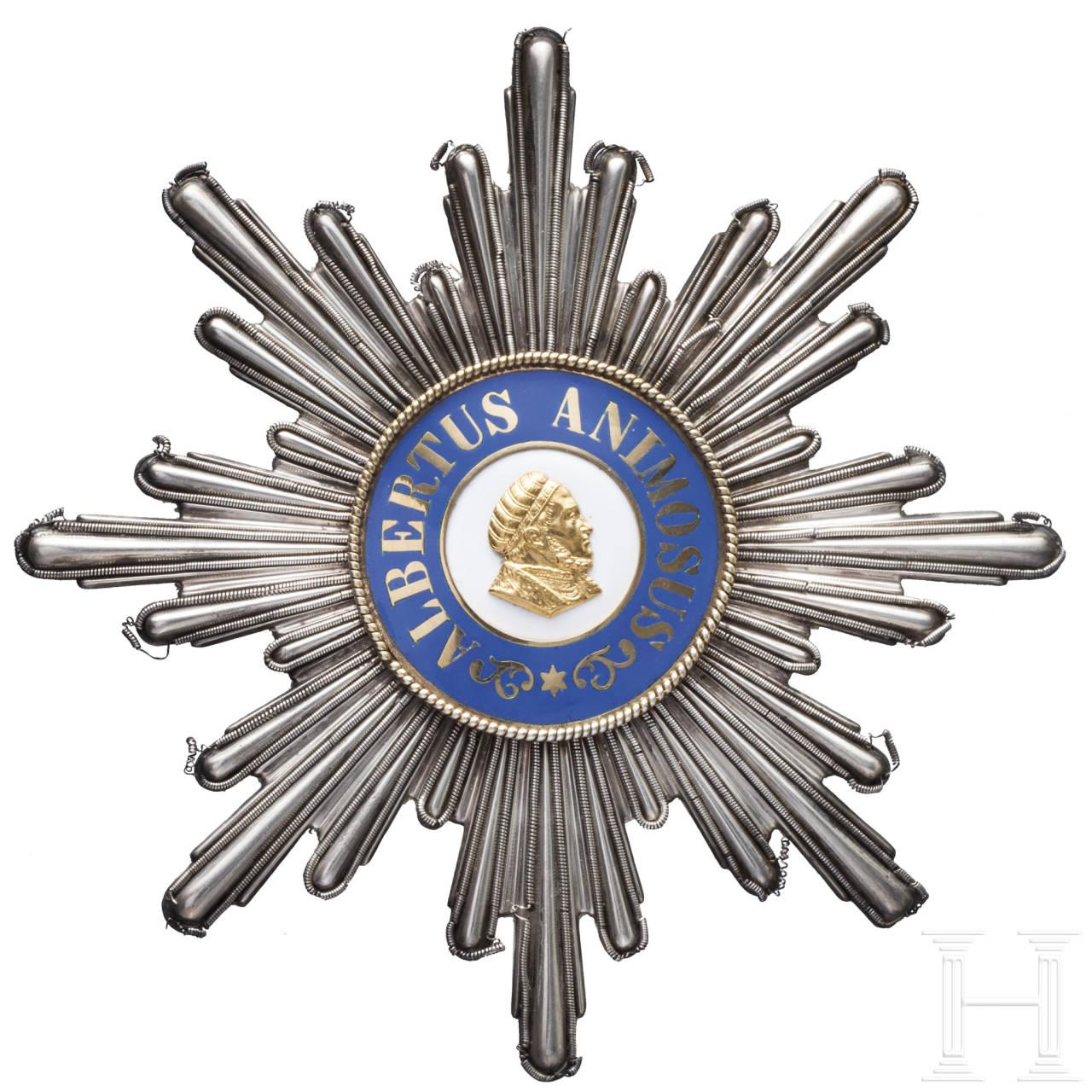 Albrechtsorden - Breast Star of the Grand Cross 1. model