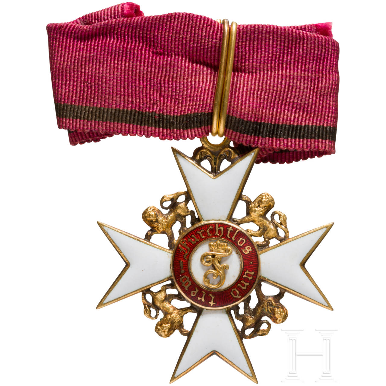 Order of the Wurttemberg Crown - Knight's Cross with lion