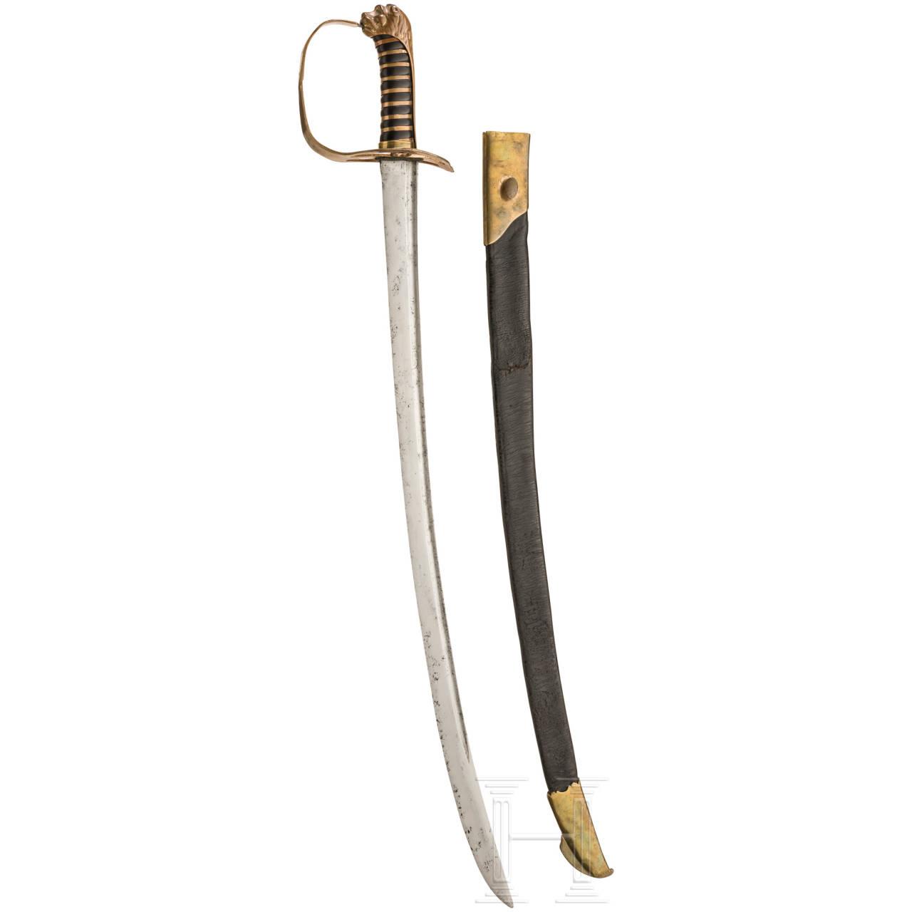 Sabre for infantry officers, ca. 1790