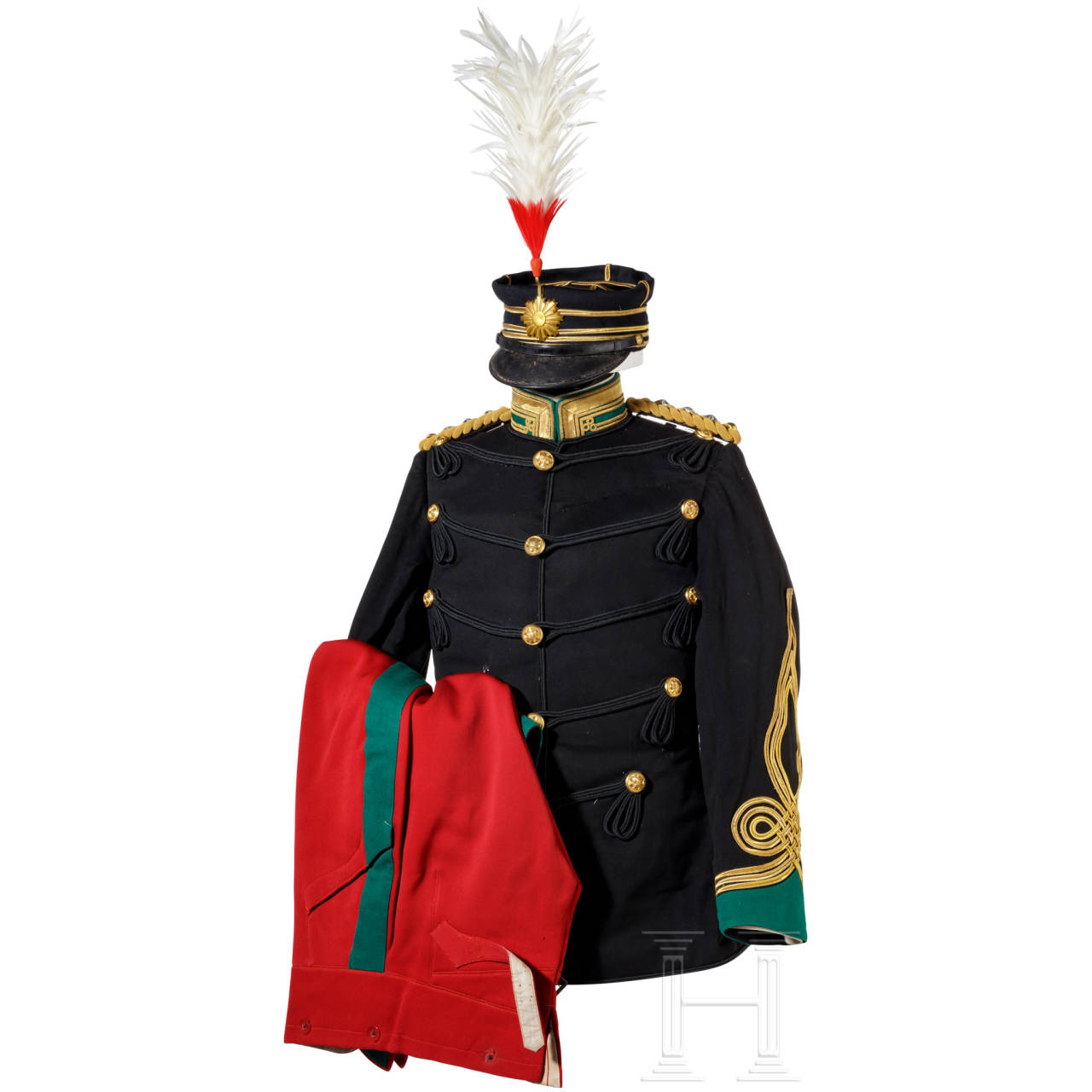Uniform ensemble for a cavalry colonel, Meiji period