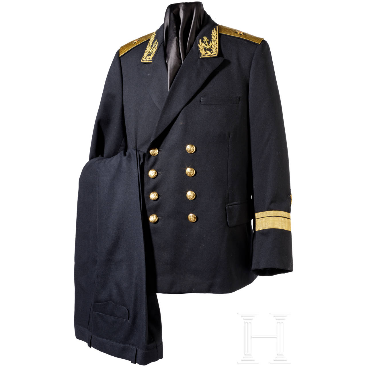 Parade uniform and summer jacket for an admiral, Soviet Union since 1945