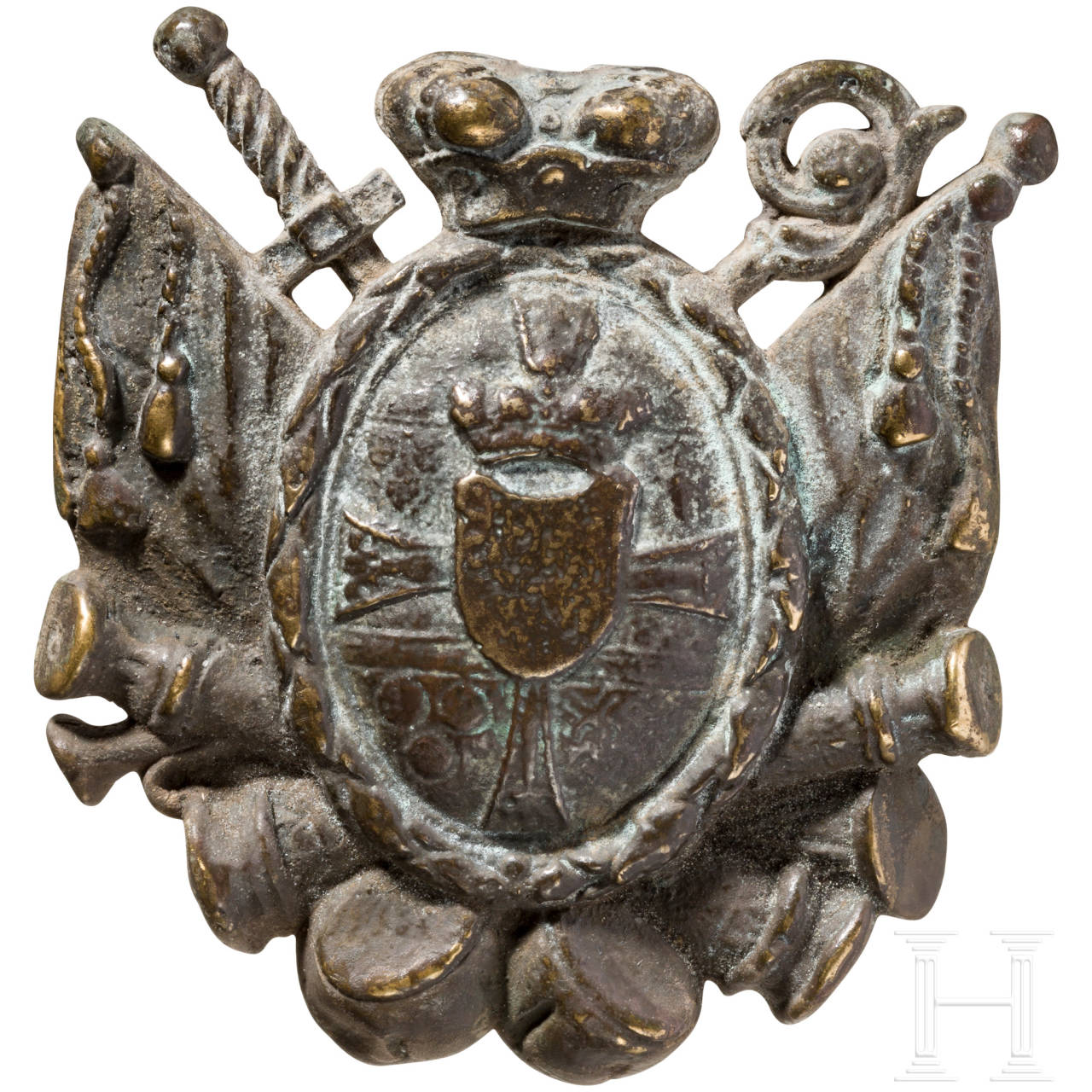 A plaque for a cuirass, prince-bishopric of Constance, 18th century