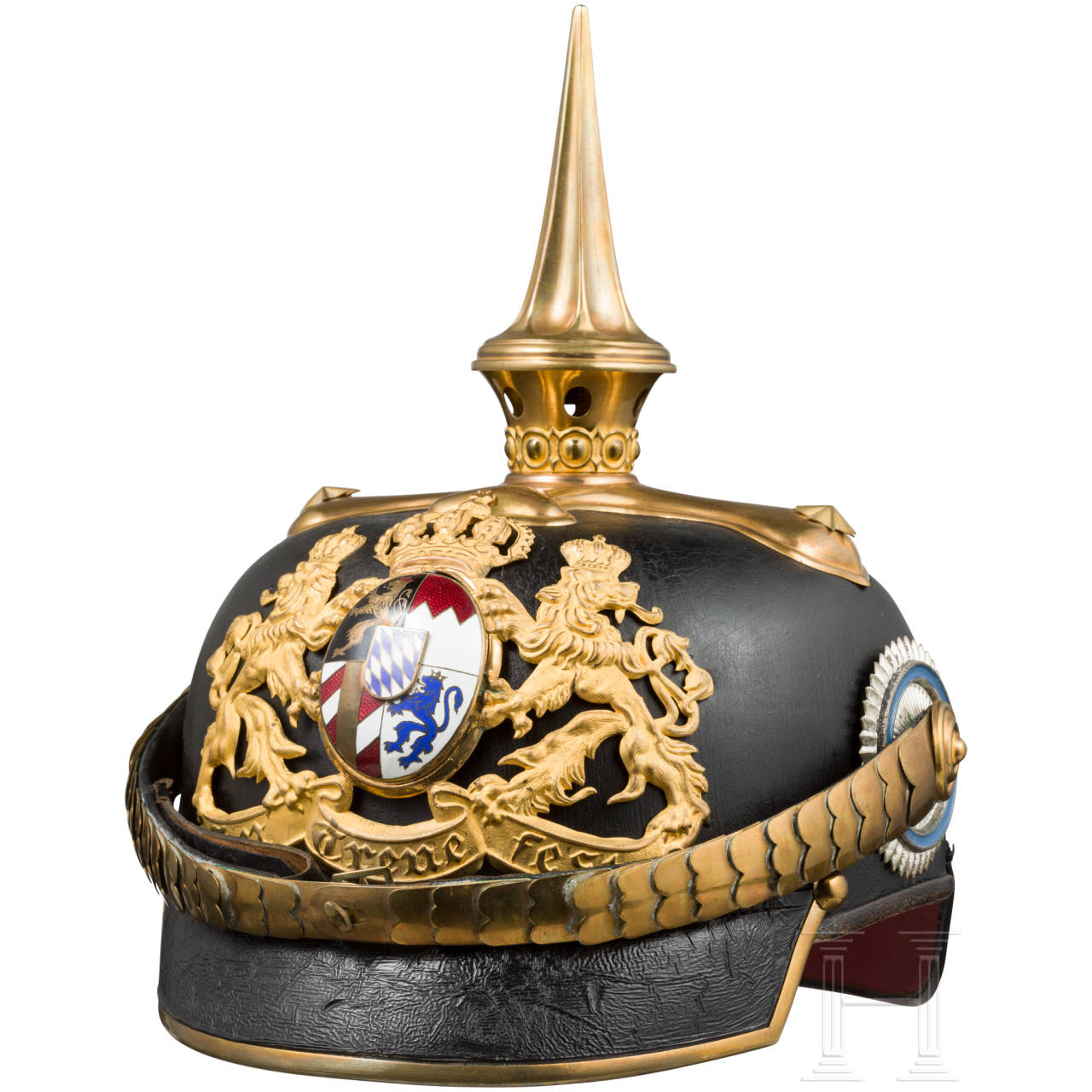 Helmet M 1886/1914 for medical officers in a general's rank