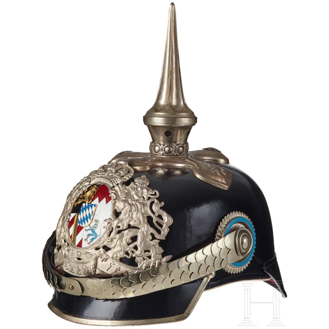 A Bavarian General Spiked Helmet