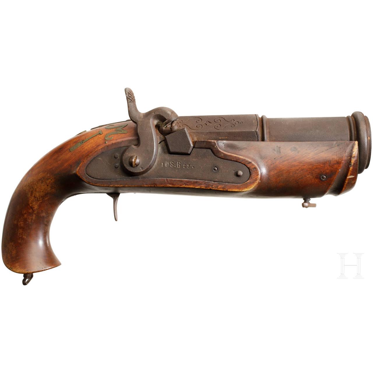 A South German saluting gun, dated 1925