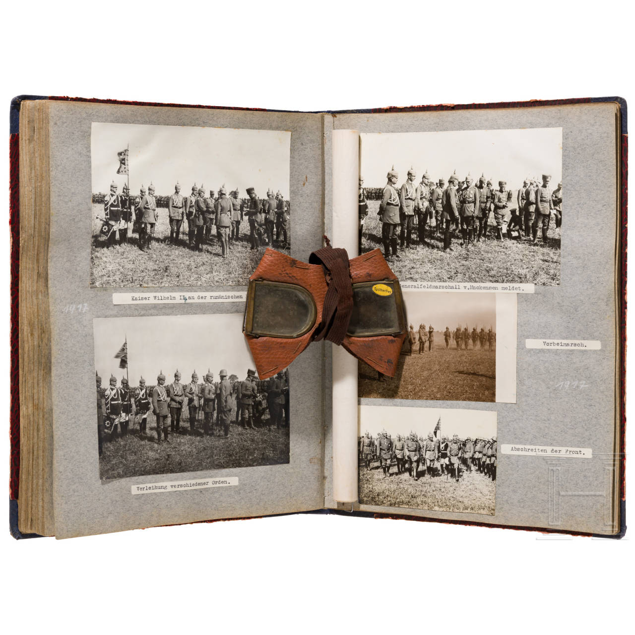 Photo album of the airforce unit 42 at the eastern front 1917