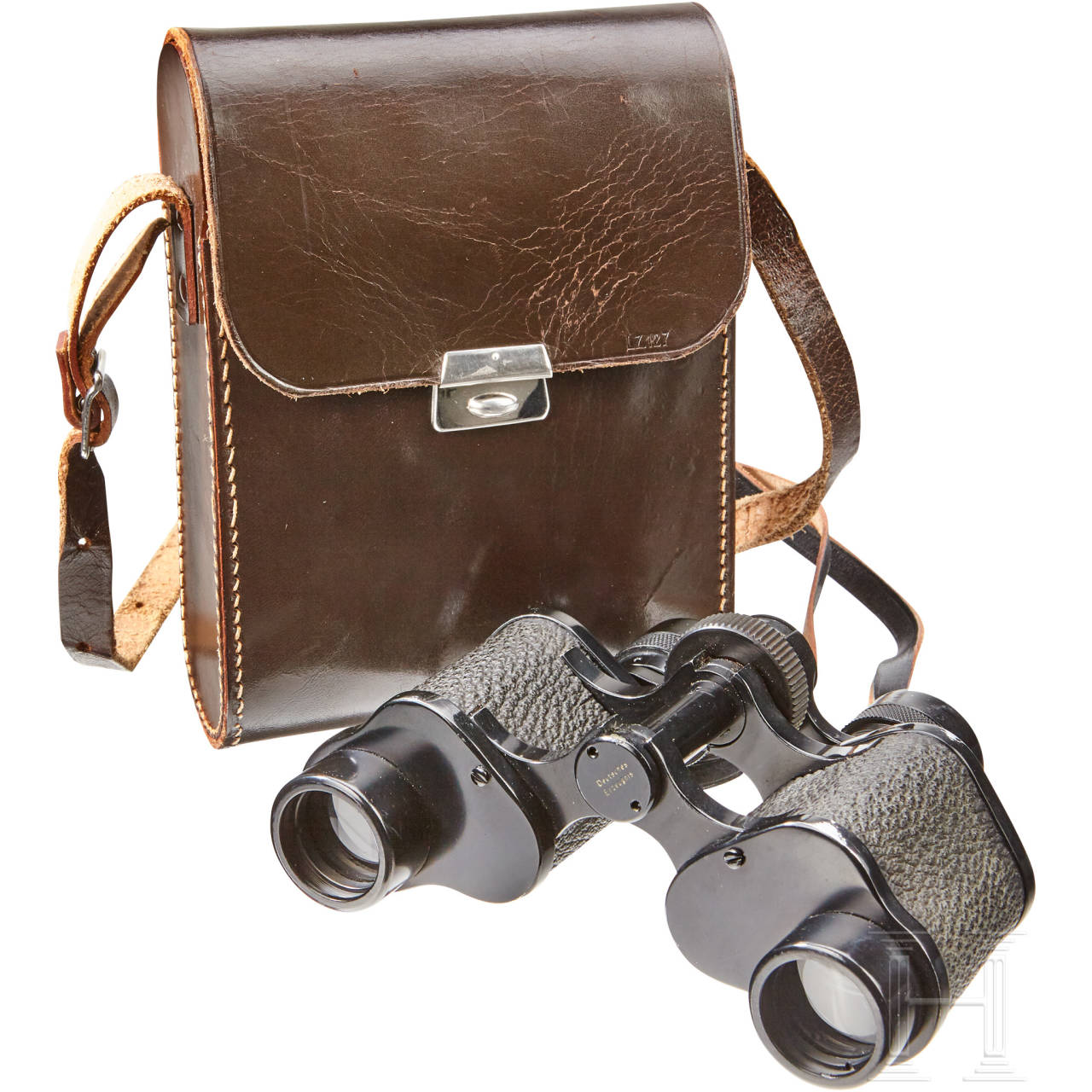 A Pair Of Cased Aviation Binoculars