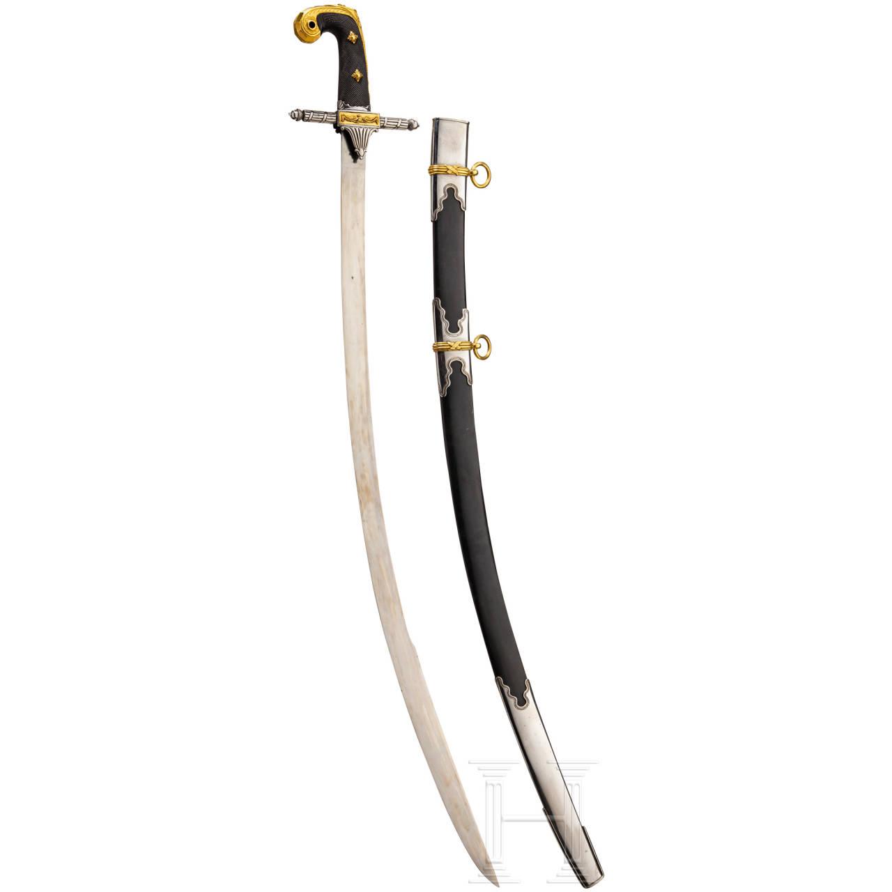 A splendid sabre of Adolf Friedrich, first Duke of Cambridge