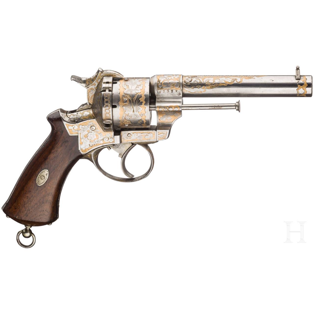 A pinfire revolver, Eugene Lefaucheux, Paris