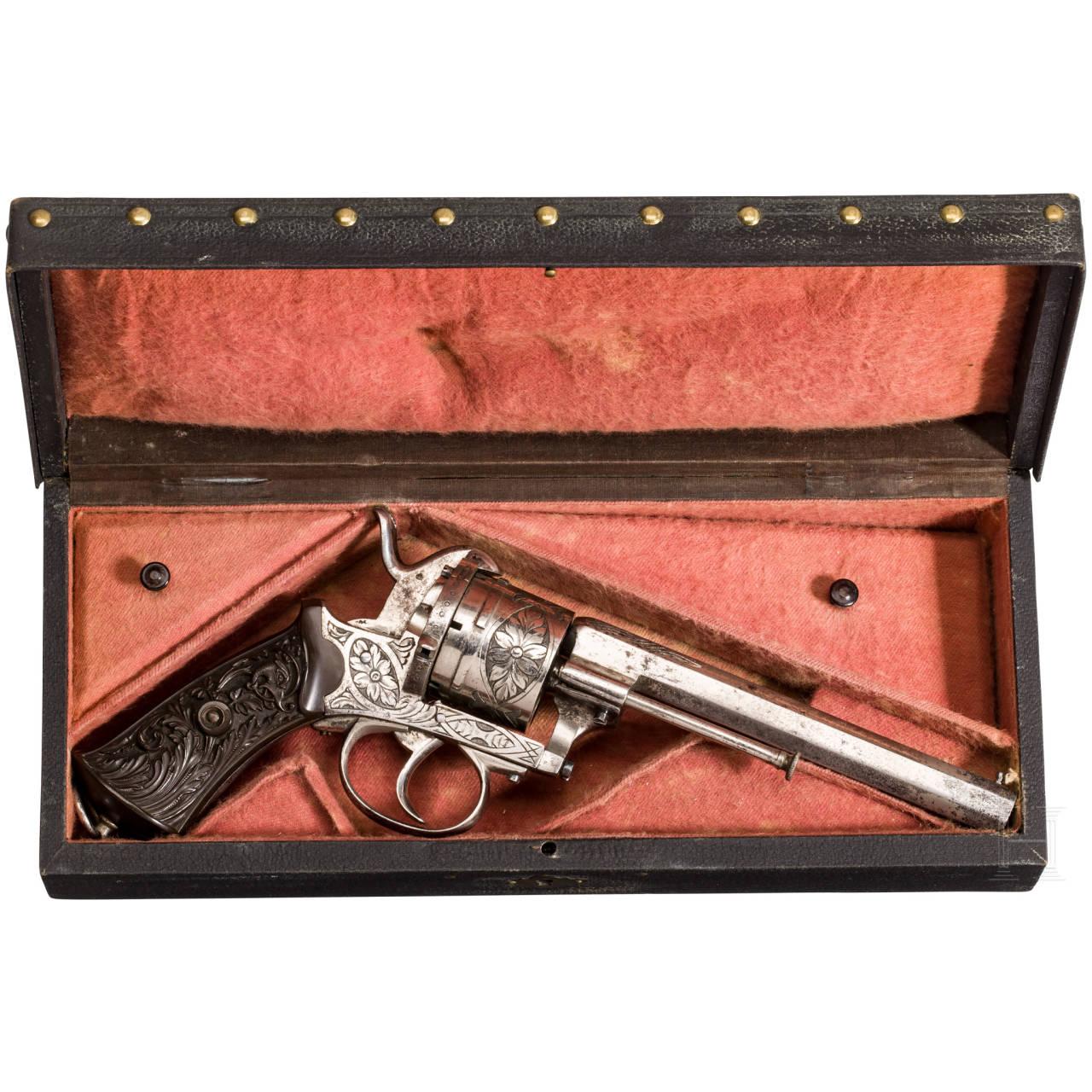 A pinfire revolver, Belgium