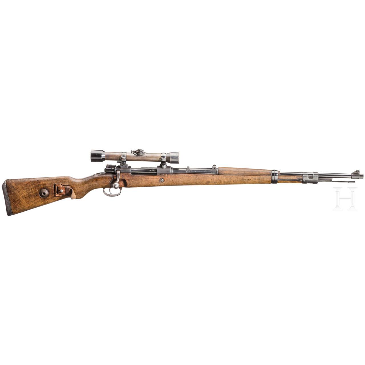 Mauser 98 mit ZF Zeiss Zielvier