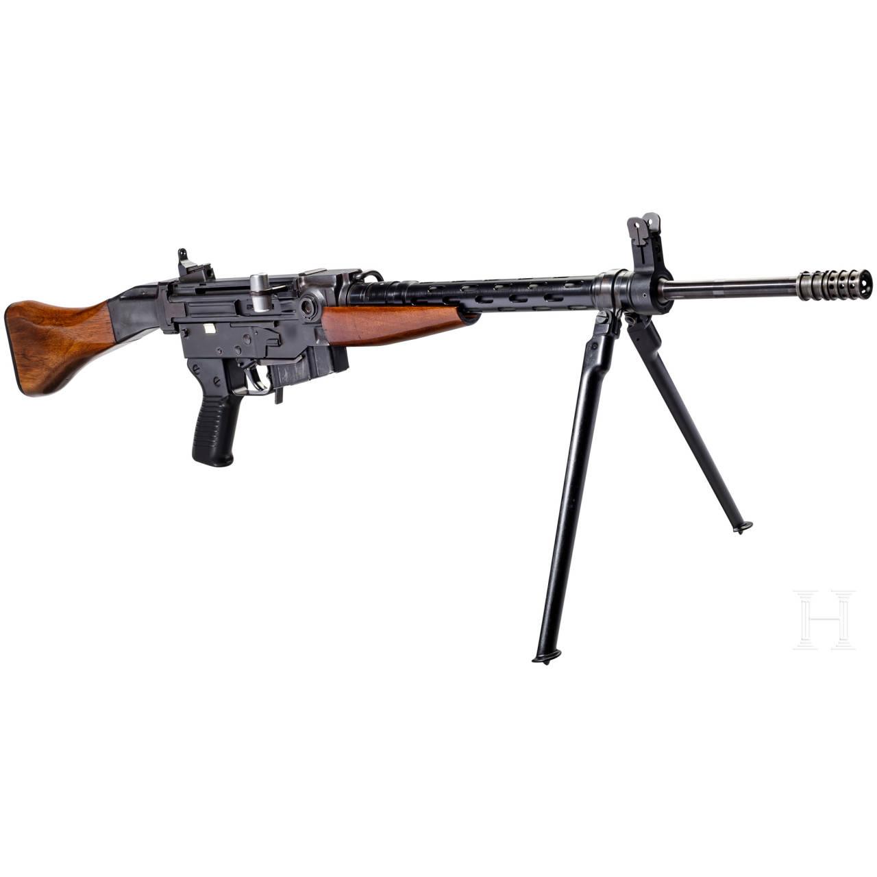 A self-loading rifle SIG-AMT