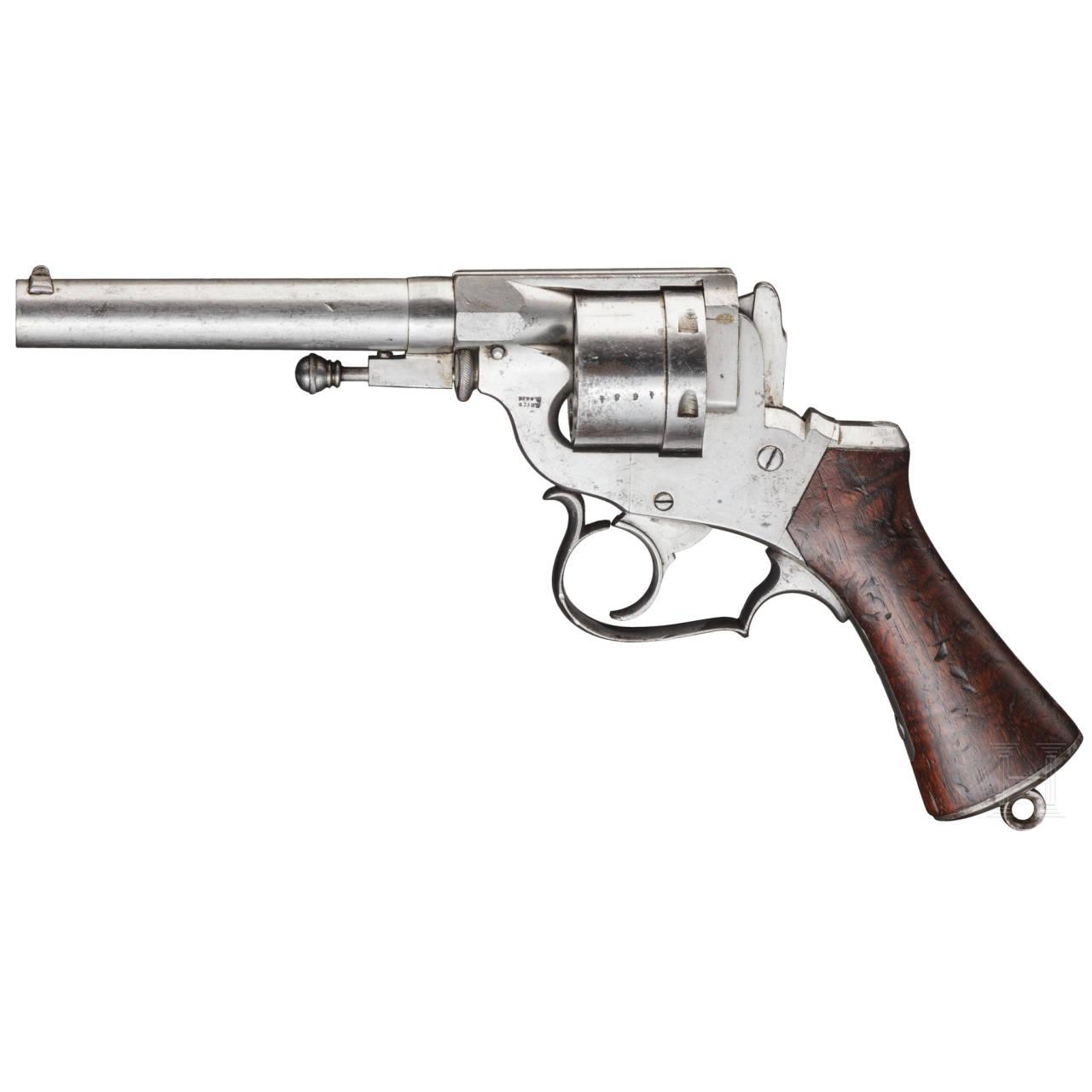 Revolver Perrin Mod. 1870, Versuch der frz. Armee