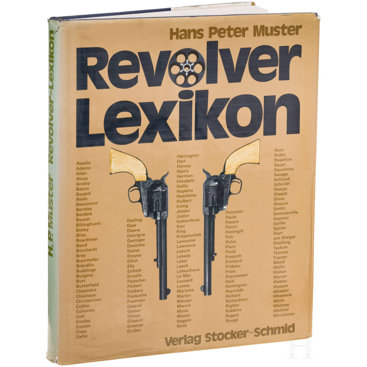 "A book by Hans Peter Muster, ""Revolver-Lexikon"""