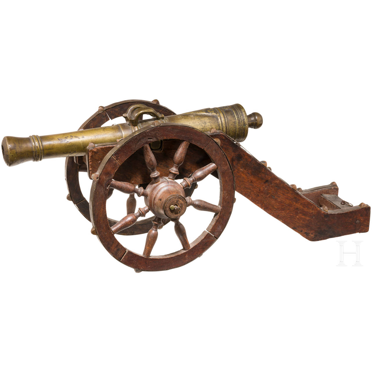 A model cannon, Germany, Historicism, ca. 1900