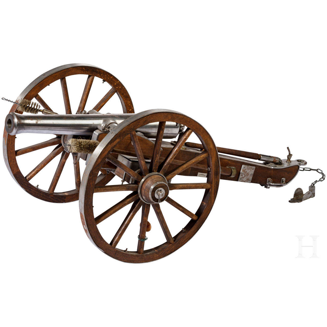 A miniature cannon in the style of the 17th century, Spanish reproduction, 2nd half of the 20th century