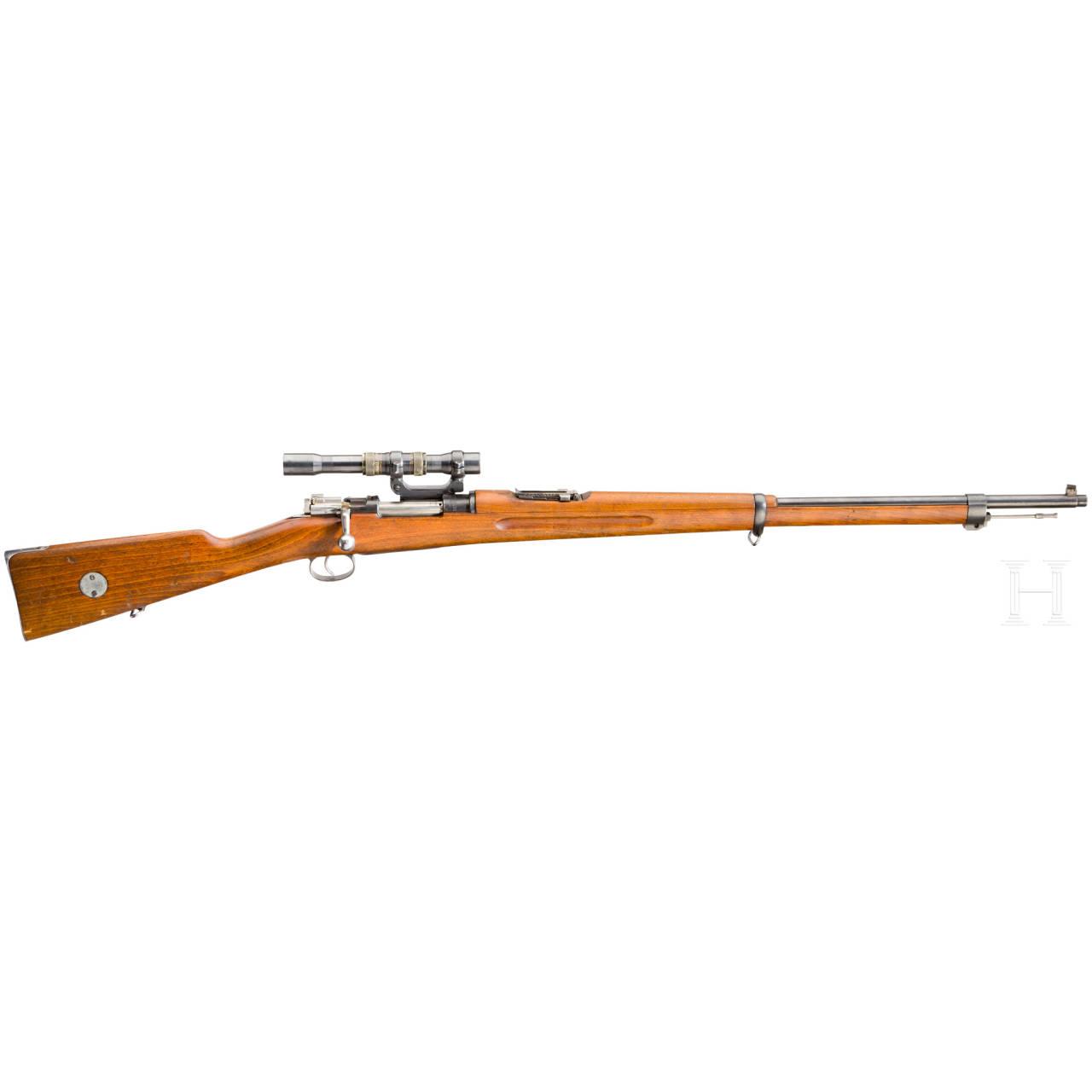Scharfschützengewehr M 96, Carl Gustaf, mit ZF AGA m/42