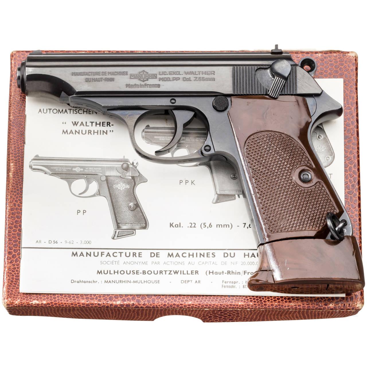 Walther-Manurhin PP, Ordonnanz, im Karton