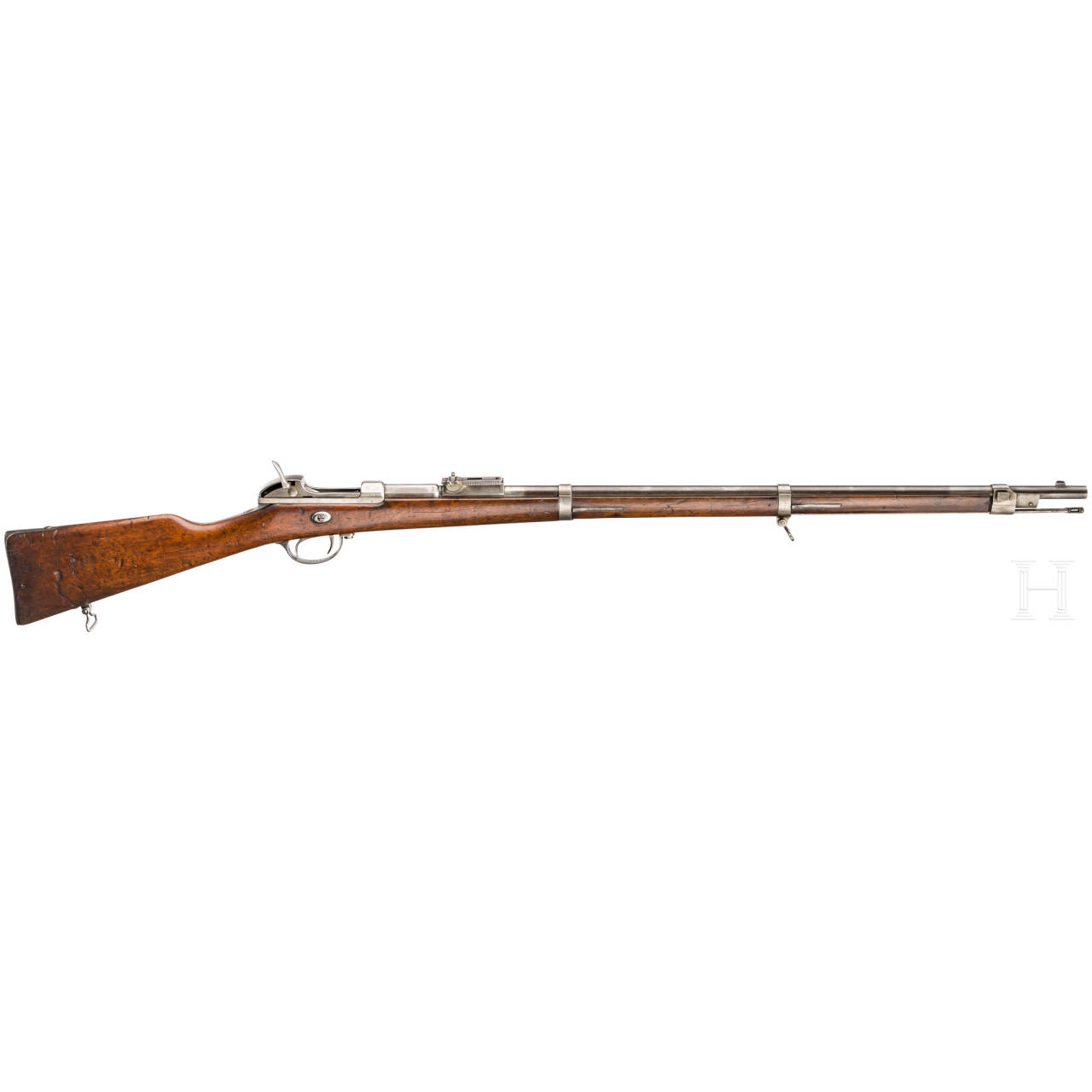 Gewehr Werder M 1869, Amberg, aptiert