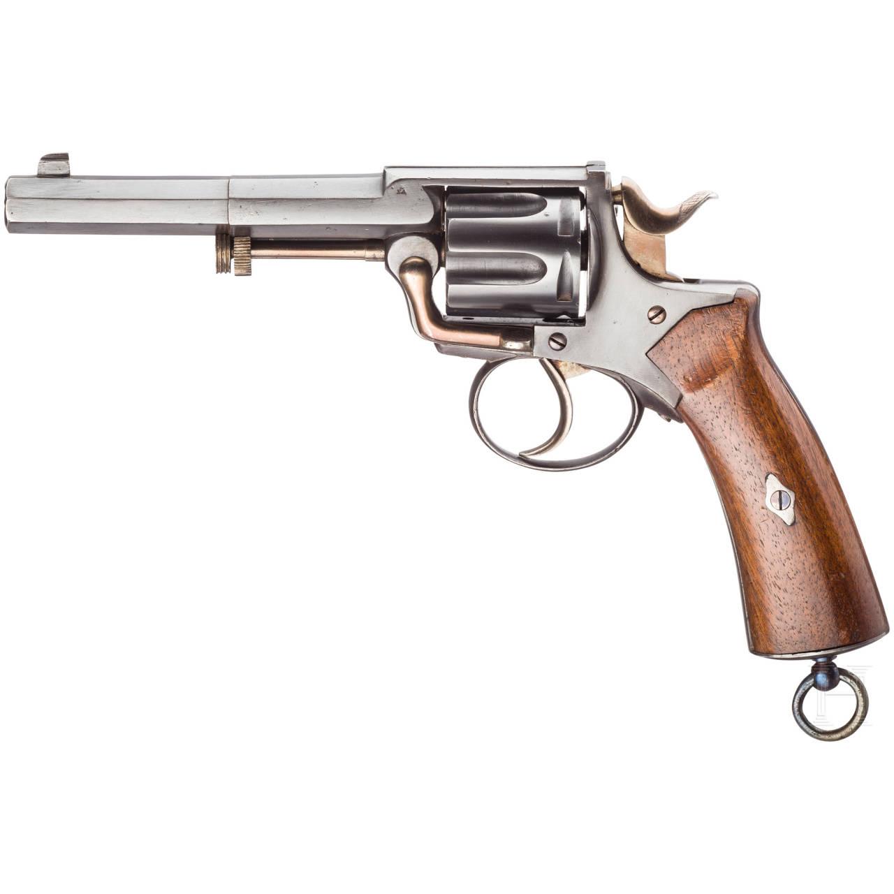 """Belgischer """"St. Etienne-Revolver"""", mit Tasche"""