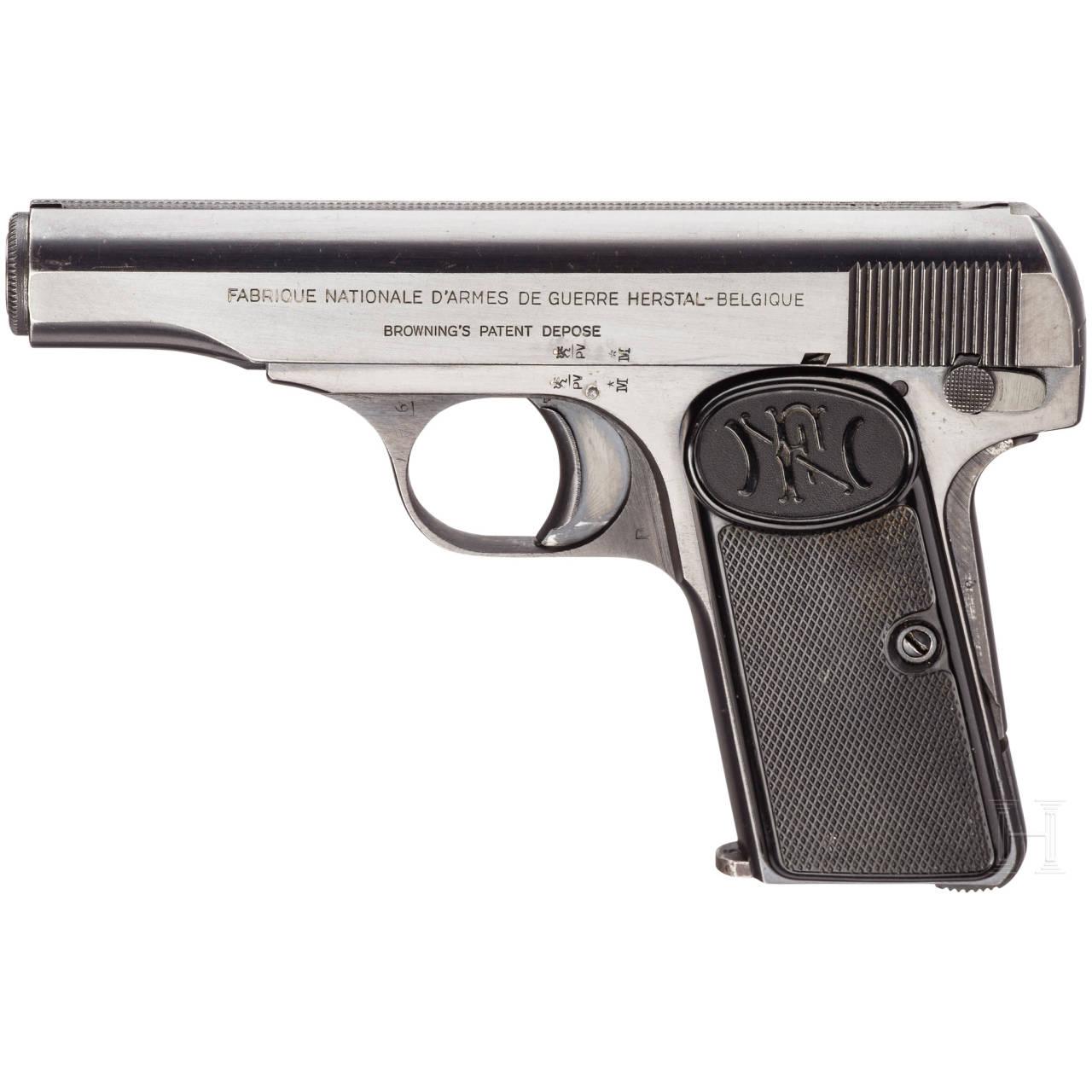 FN Mod. 1910, mit Tasche