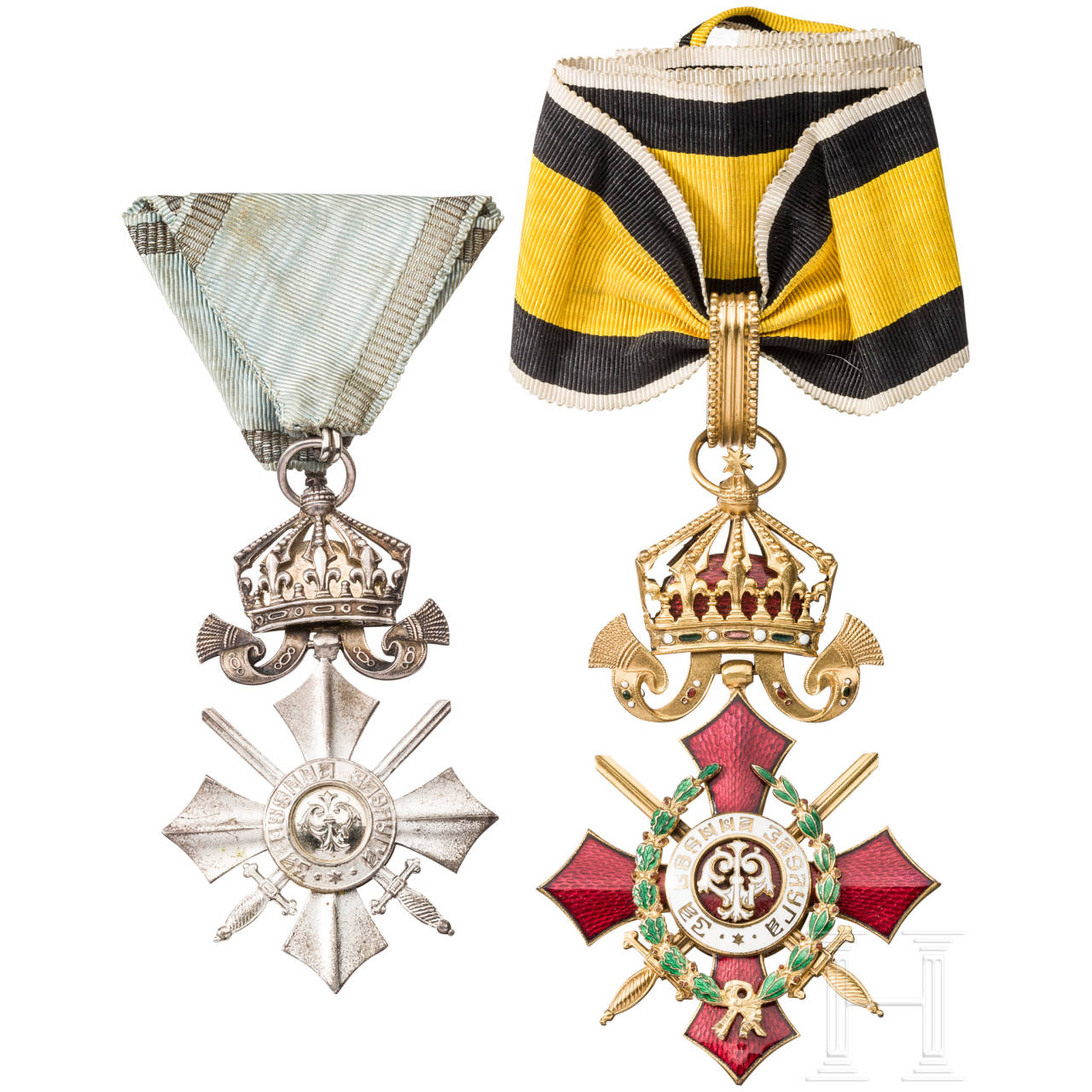 Military Merit Order 2nd class with war decoration, Bulgaria