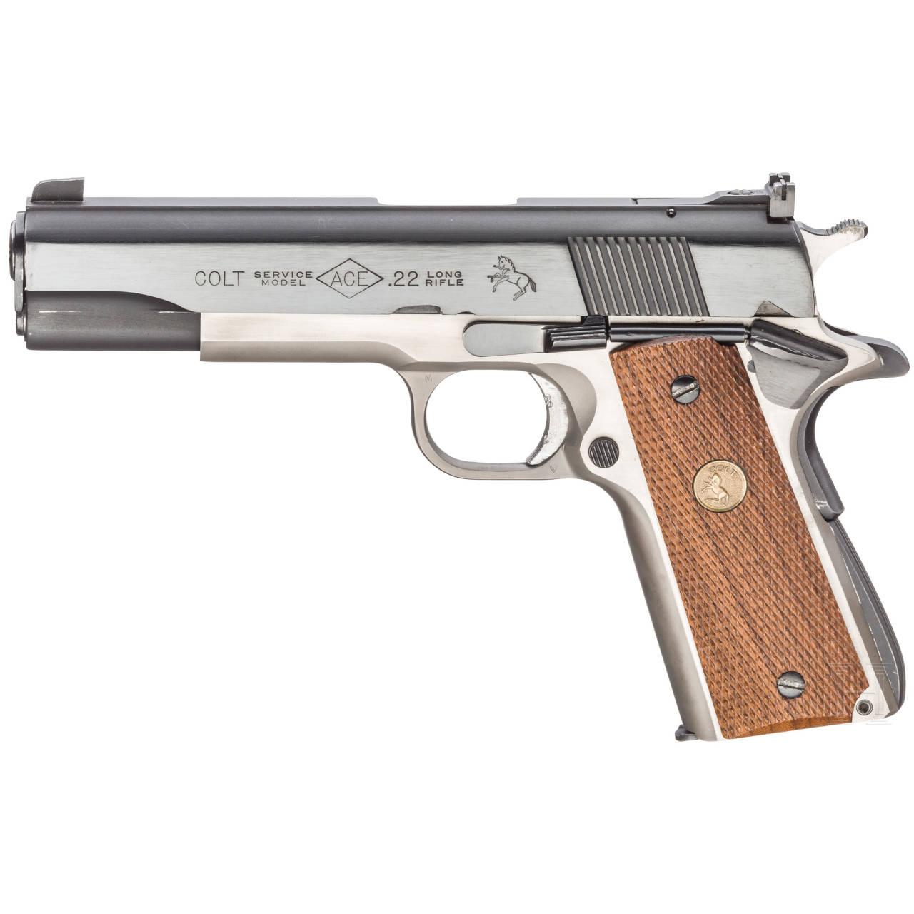 Colt ACE Service Model 22 Automatic Pistol, dual-tone, im Karton