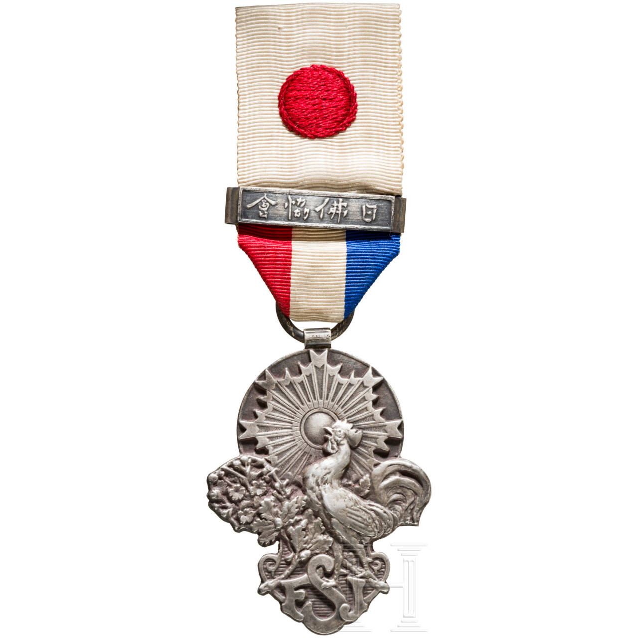 Medal of the French-Japanese Society, late 19th century