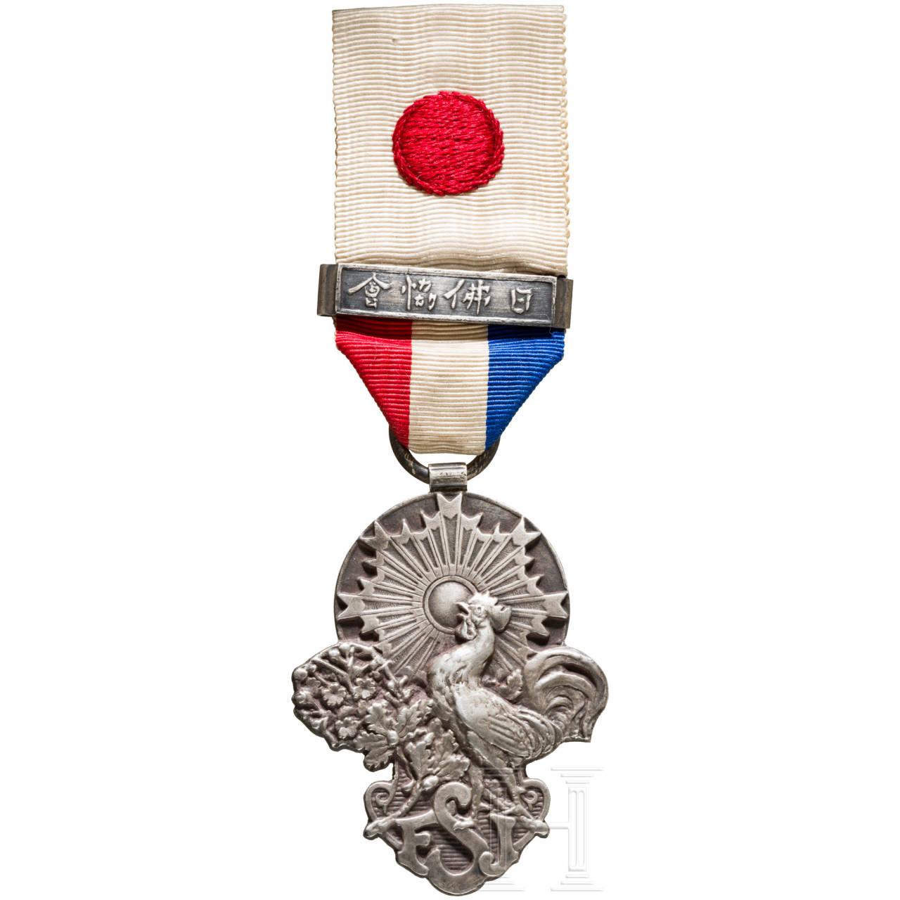 Medaille der Französisch-Japanischen Gesellschaft, Ende 19. Jhdt.