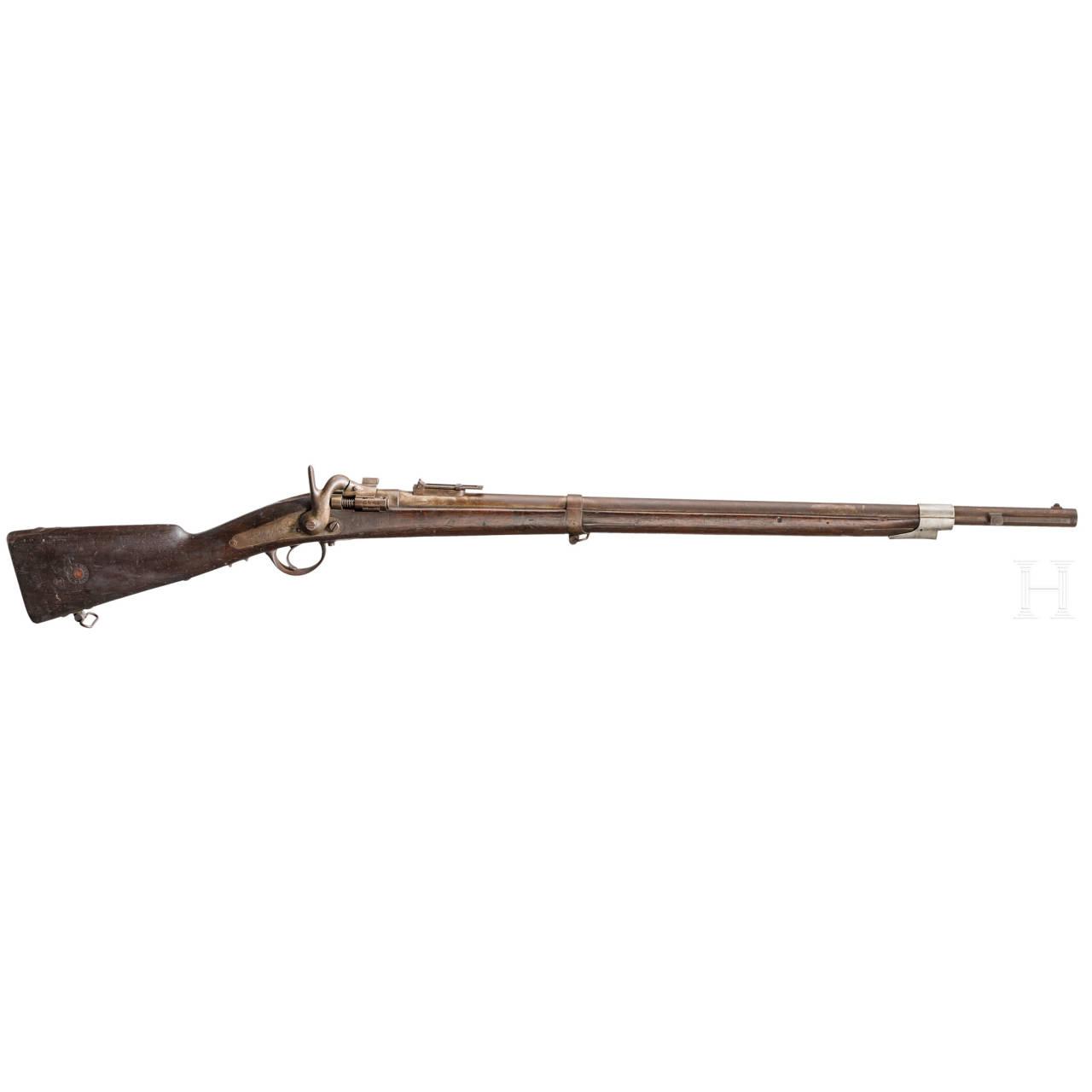 """Carabine de Chasseur Mle 1867 """"à tabatière"""""""
