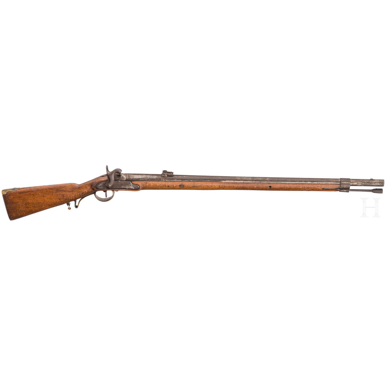 A percussion rifle, similar to Kammerbüchse M 1849
