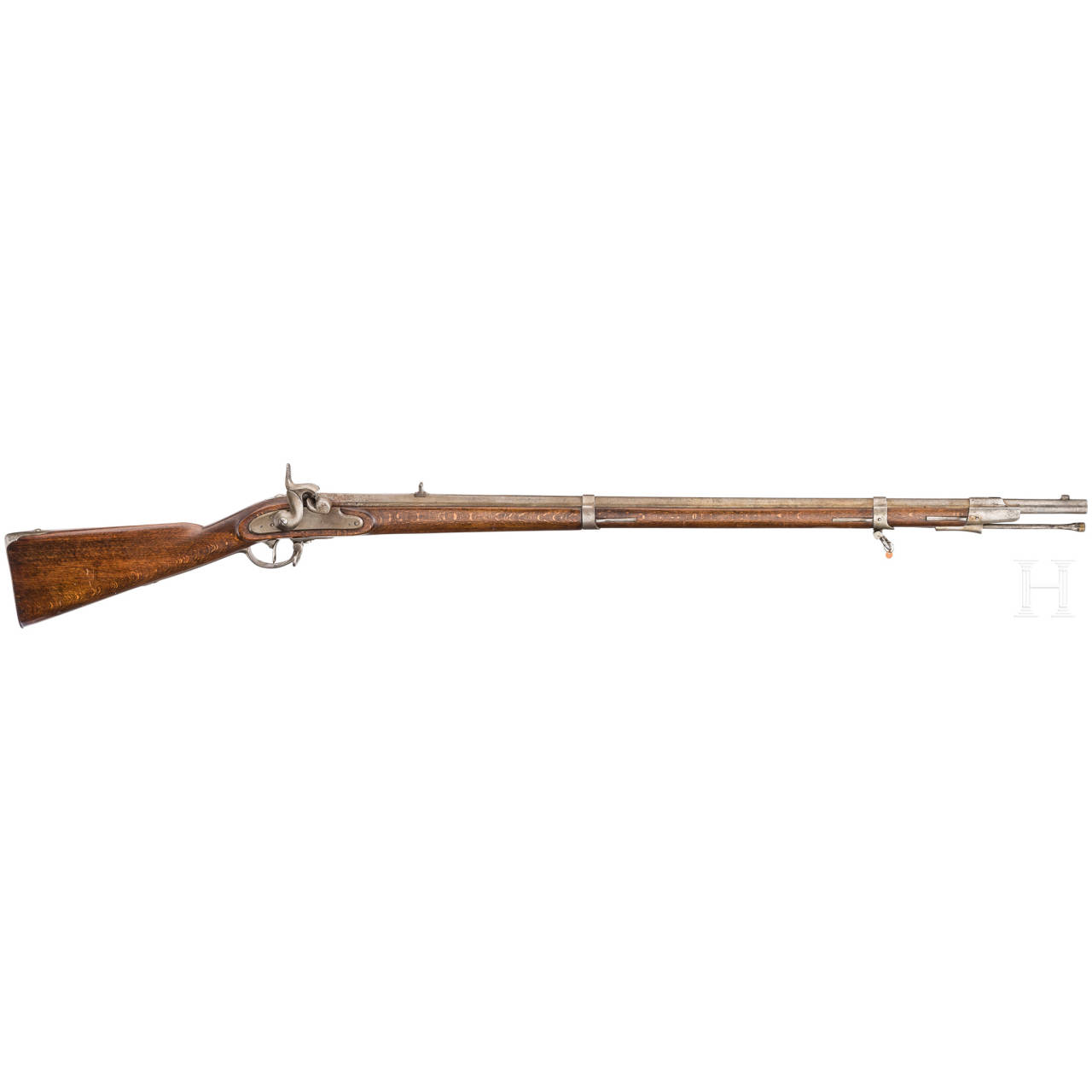 An infantry rifle M 1854/I