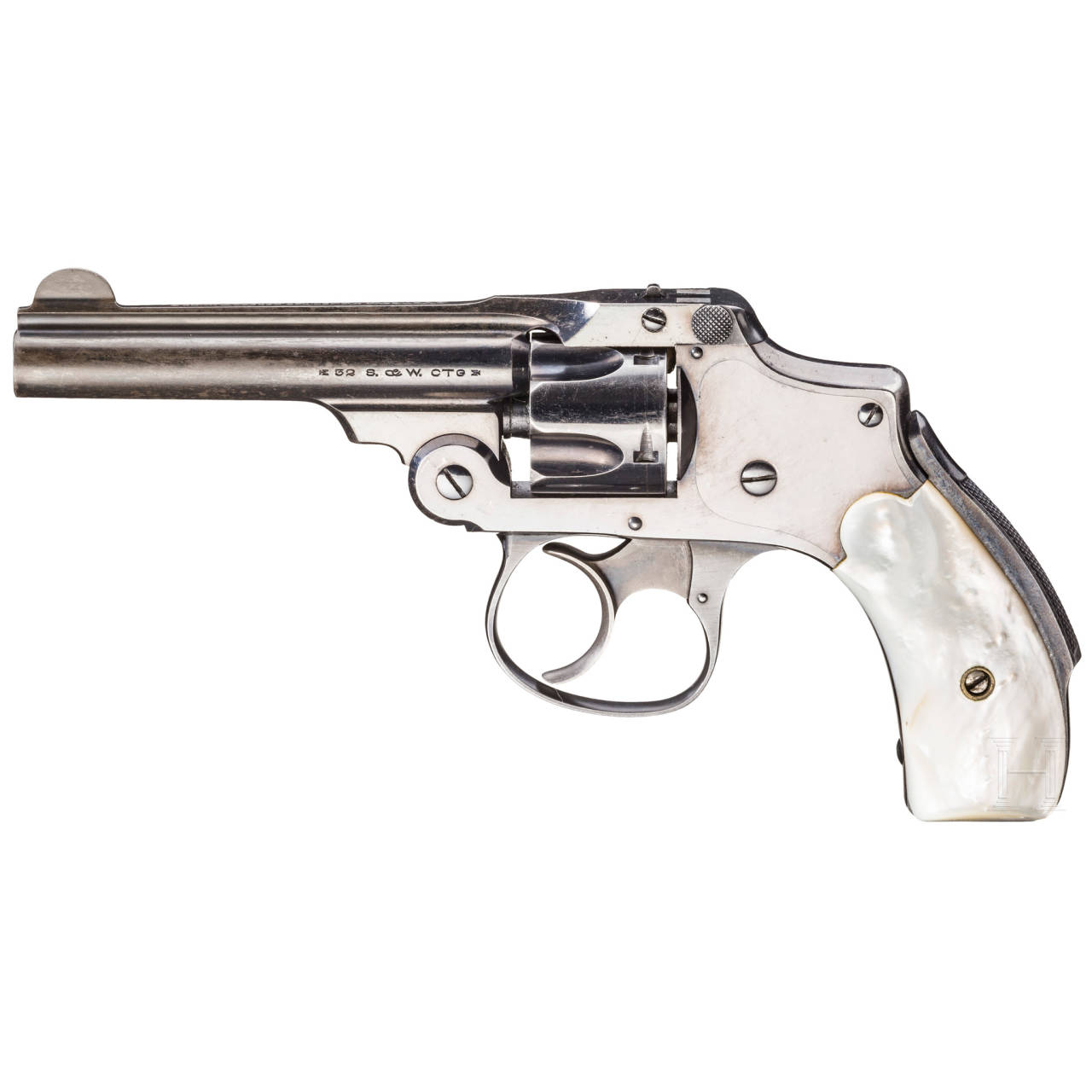 Smith & Wesson .32 Safety 3rd Model D.A. (Safety Hammerless)