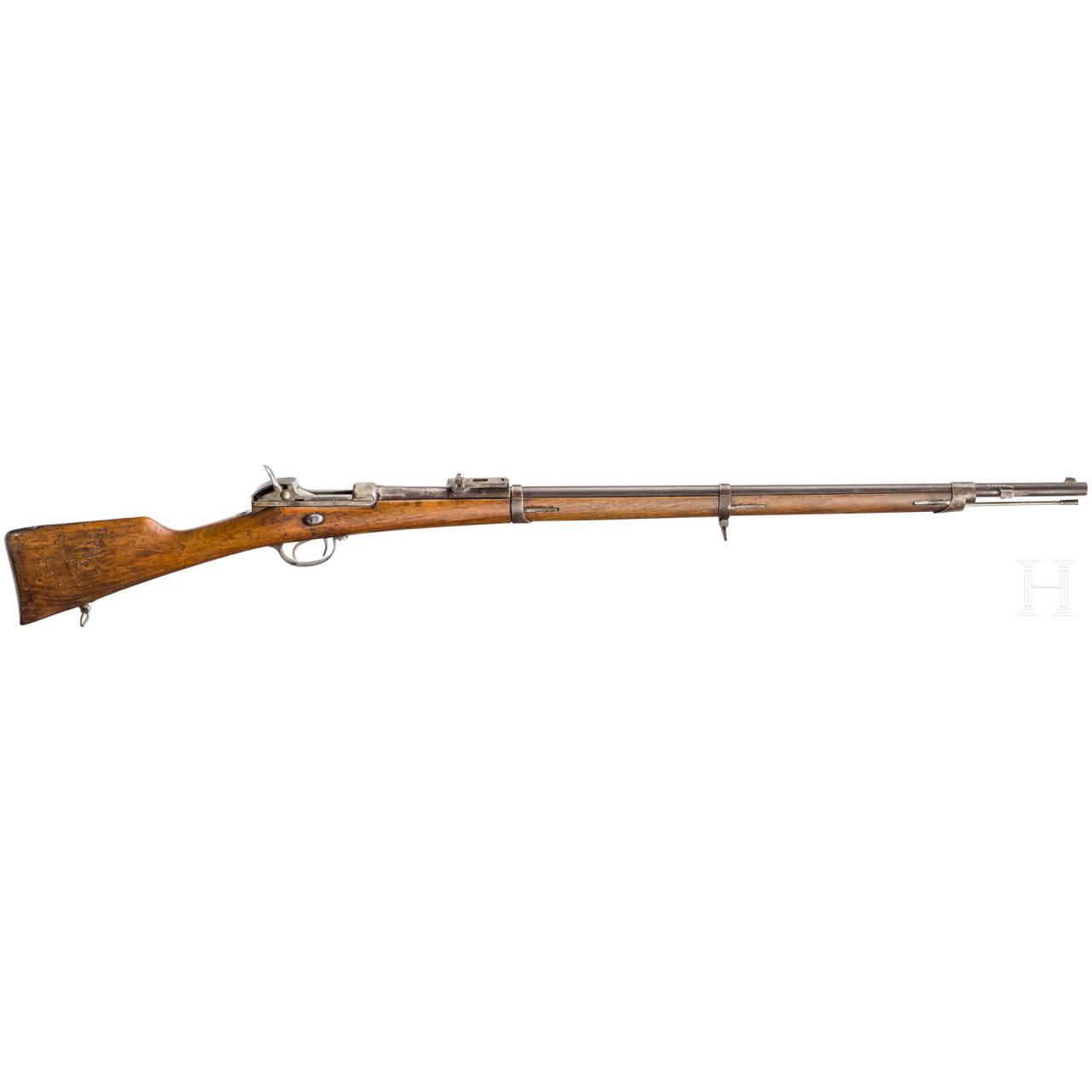 Gewehr Werder M 1869, aptiert