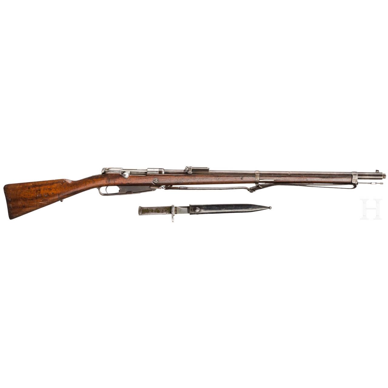 Gewehr 88, Loewe Berlin 1890, Alt-Deko