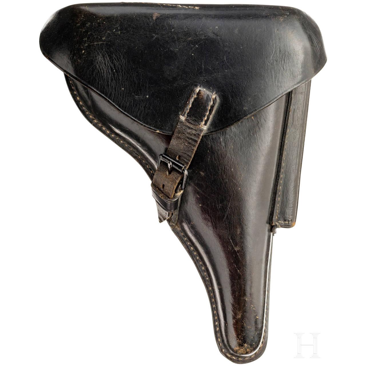 Koffertasche zur Pistole 08, Wehrmacht