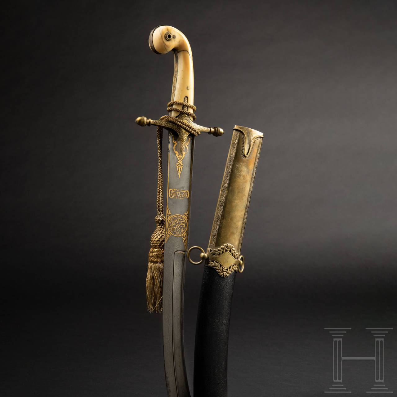 An Ottoman kilij, 1st half of 19th century