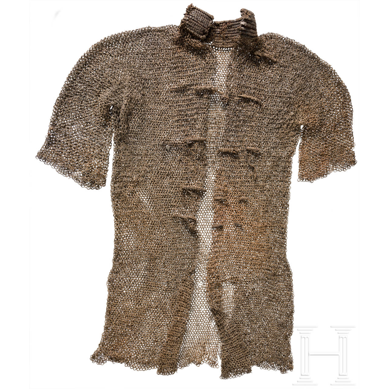 An Ottoman mail shirt, dated 1599
