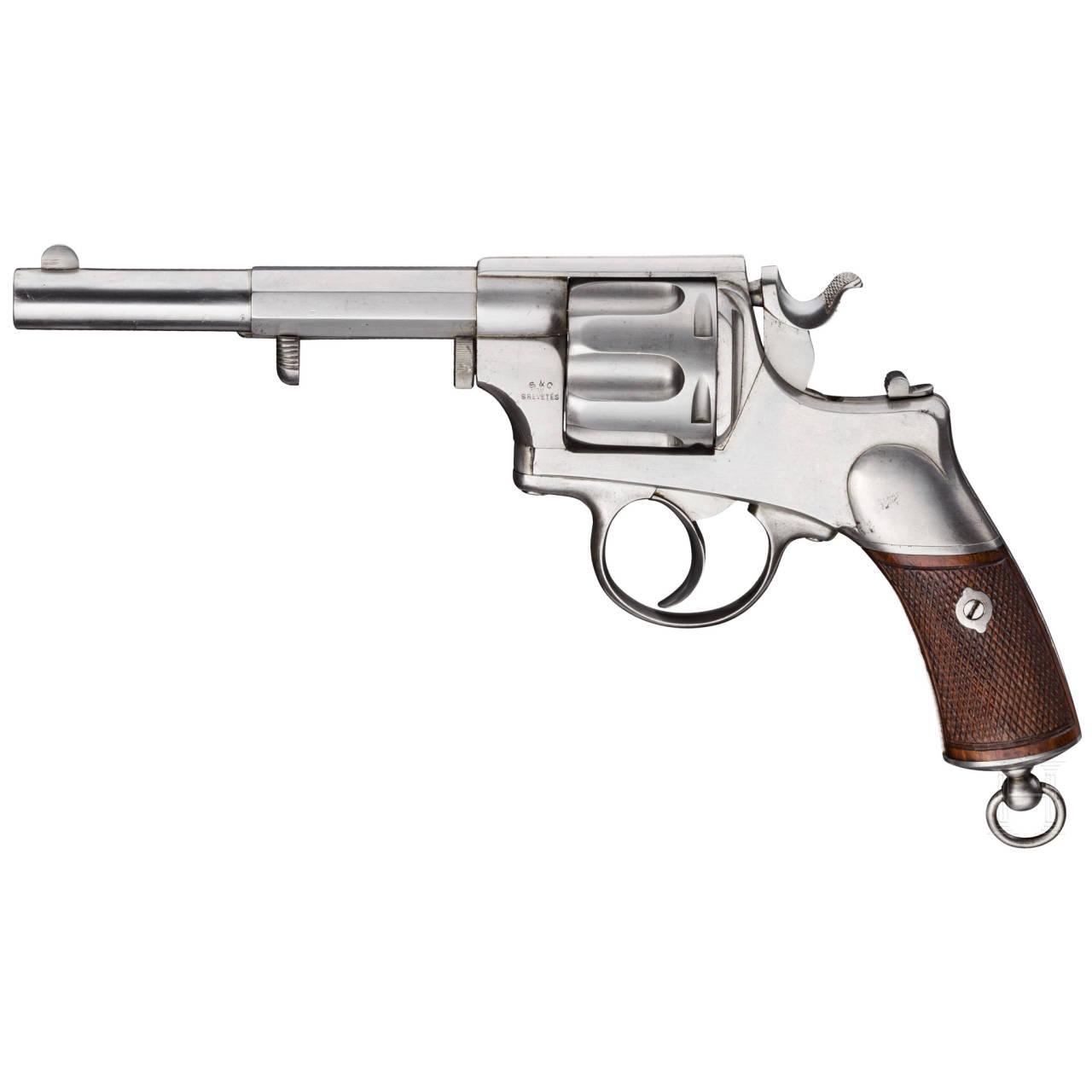 A Warnant, Scholberg & Gadet revolver system, Liège, prototype (?) for the KSKM