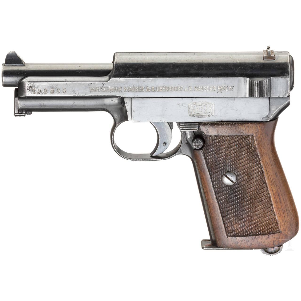 Mauser Mod. 14, Militärkontrakt, mit Tasche