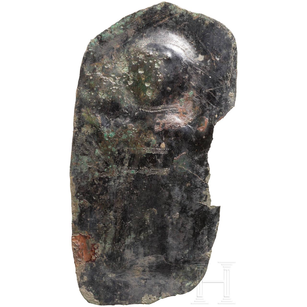 Votivblech mit Adorant, urartäisch, 8. Jhdt. v. Chr.