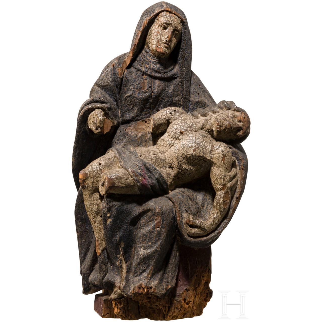 Pietà, Zentralfrankreich, 17. Jhdt.