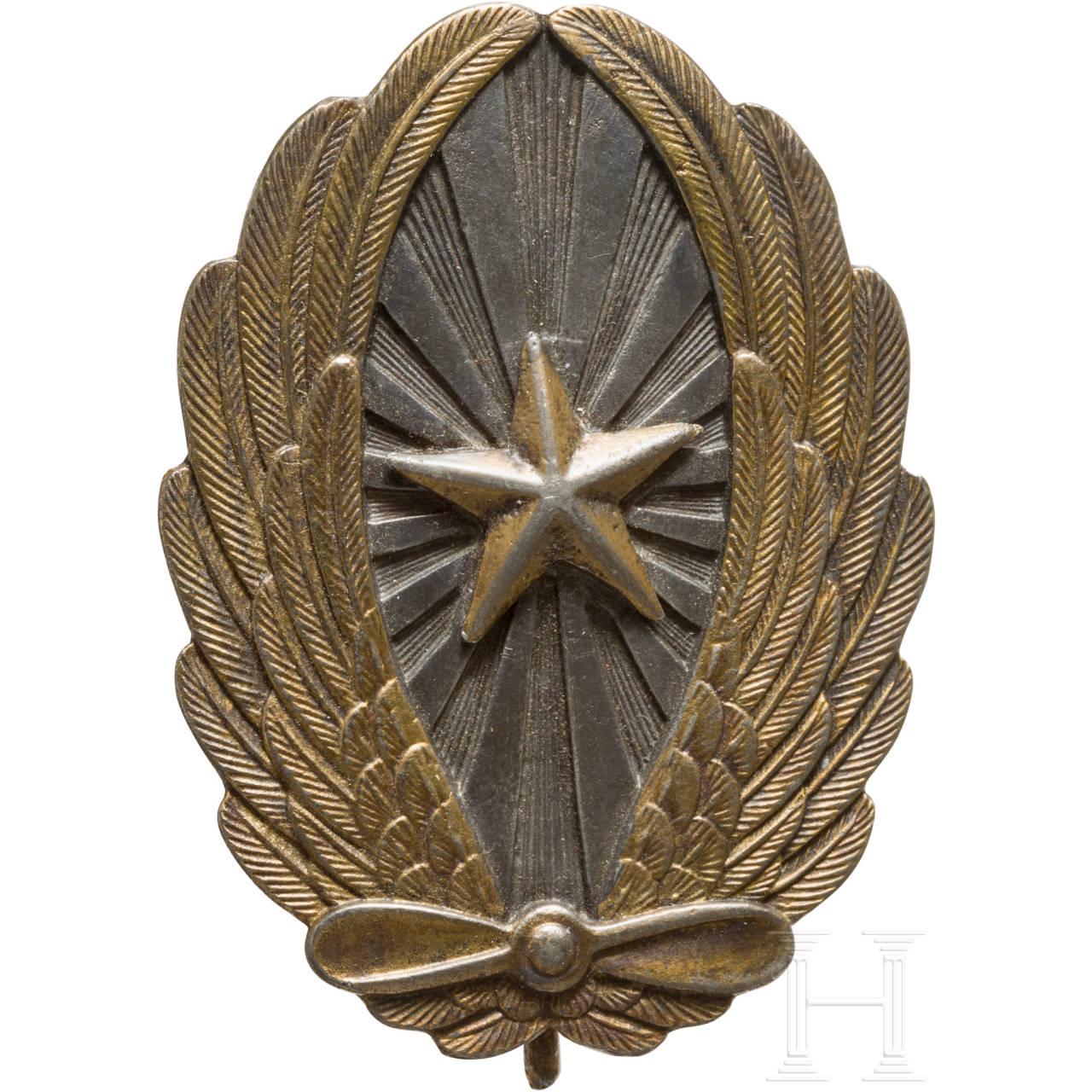 Fliegerabzeichen für Offiziere der Armee, 2. Weltkrieg