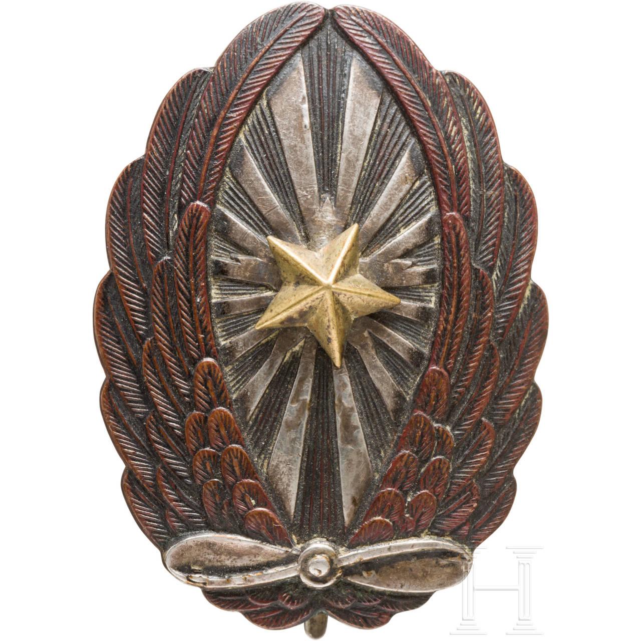 Fliegerabzeichen für Unteroffiziere der Armee, 2. Weltkrieg